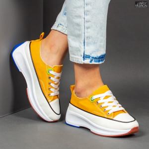 Pantofi Sport ''Mei XC2 Yellow'' [D13E9]