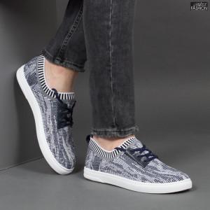 """Pantofi Sport """"Rodman YD 6928 White Blue"""" [S8E6]"""