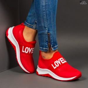 Pantofi Sport ''Se7.en X626 Red''