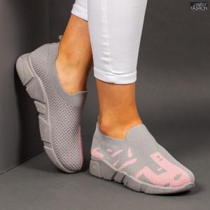 Pantofi sport ''Start 2102 Grey Pink'' [D1D6]