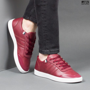 Pantofi Sport ''Veer Fashion B-1802-3 Burgundy'' [S14E8]
