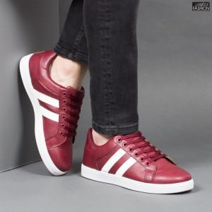 Pantofi Sport ''Veer Fashion B2803-4 Wine Red'' [S15E4]