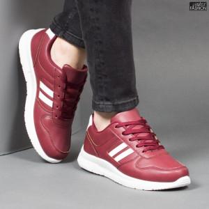 Pantofi Sport ''Veer Fashion B2816-4 Wine Red''