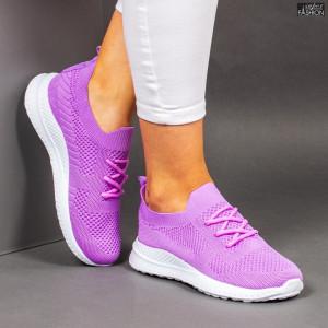Pantofi Sport ''WE Fashion 2201 L. Purple '' [D9A4]