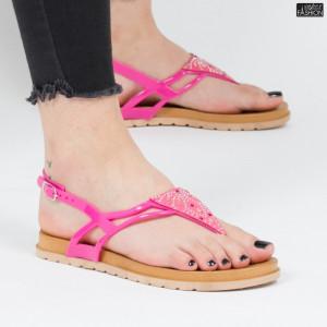 sandale dama roz