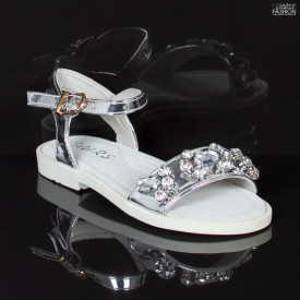 Sandale Copii ''MRS 676 Silver''