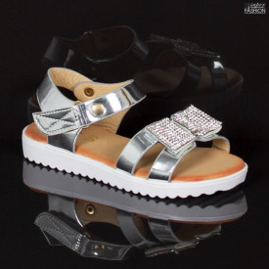 Sandale Copii ''MRS R907 Silver'' [D3B2]