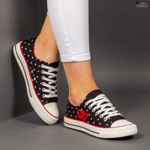 """Tenisi """"D.L. Fashion AX01 Black"""" [D13A9]"""