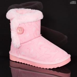 Cizme Copii ''Apawwa N223 Pink'' [D1B9]