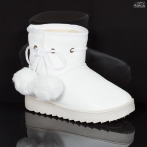 "Cizme Copii ""Fashion WL-1 White"" [D23B10]"