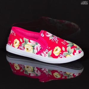 Espadrile Copii ''WE Fashion 501 Fuchsia'' [D21C6]