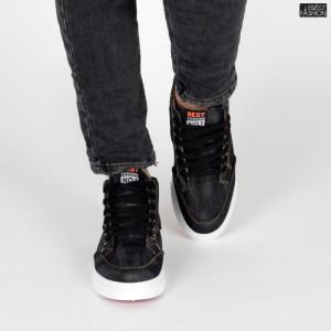 Ghete Sport ''Best Fashion No. 1 B-013 Black'' [S10C4]