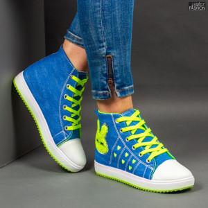 Ghete Sport ''WE Fashion 906 Green'' [D18B13]