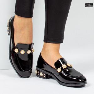 pantofi dama luciosi