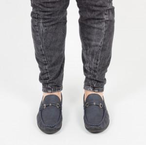 pantofi barbati albastri