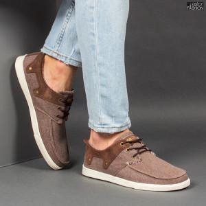 Pantofi Sport ''23DEC. M9037-02 Brown'' [S12E4]