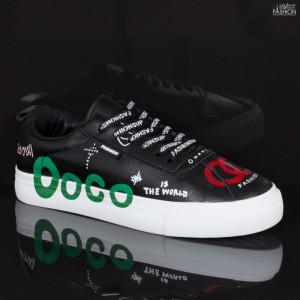 Pantofi Sport ''ABC H2210 Black'' [D18C12]