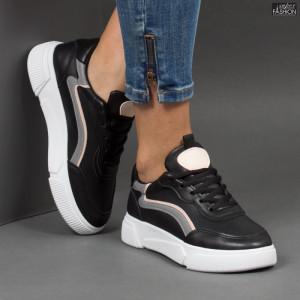 Pantofi sport ''ABC N68 Black'' [D2E1]