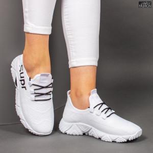 Pantofi Sport ''ALD Fashion HQ-201-229 White Black'' [D5C2]