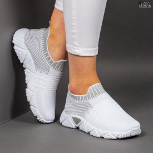 Pantofi Sport ''ALD Fashion HQ-209-276 White Grey ''