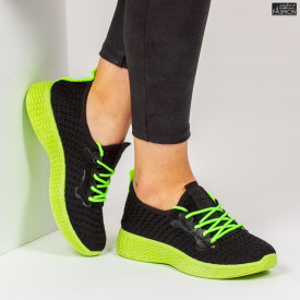 Pantofi Sport ''ALD Fashion HQ-34-158 Black'' [D4E1]