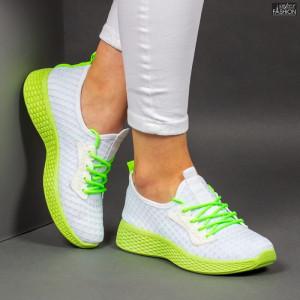 Pantofi Sport ''ALD Fashion HQ-34-162 White'' [D4E1]