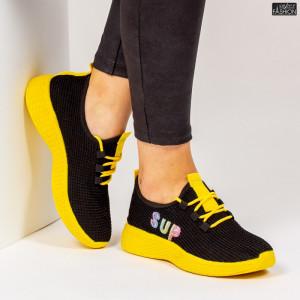 Pantofi Sport ''ALD Fashion HQ-36-172 Black ''