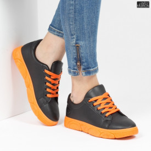 Pantofi Sport ''ALD Fashion HQ-95 Black'' [D20E11]