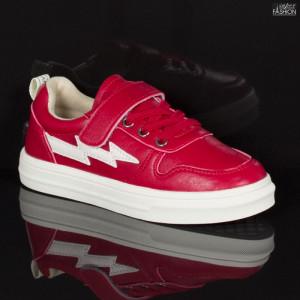Pantofi Sport Copii ''Apawwa CC207 Red'' [S23E2]