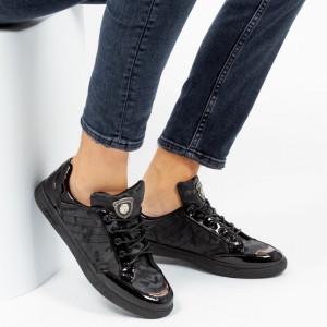 Pantofi sport ''Khatlon 810 Color Black'' [S23E9]