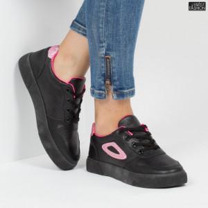 Pantofi sport ''Lavy A07 Black Pink'' [D7C2]