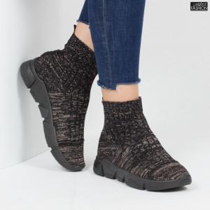 Pantofi sport ''Lavy CW-01 Black Gold'' [D1D3]