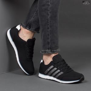 Pantofi Sport ''Lavy Fashion A-185 Black/White'' [S17B7]