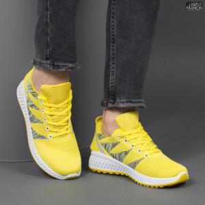 pantofi sport barbati galbeni