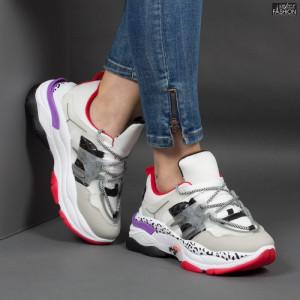 Pantofi Sport ''NCD Fashion SJ1985-2 White '' [D6E12]