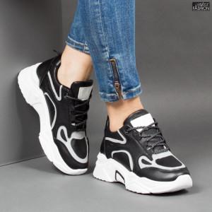 Pantofi Sport ''NOW Fashion 01 Black''