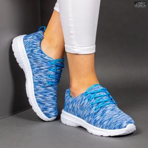 Pantofi Sport ''RED STAR Fashion 668 Lake Blue'' [D10C9]