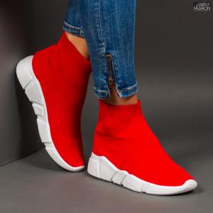 Pantofi Sport ''Se7.en J-5 Red''