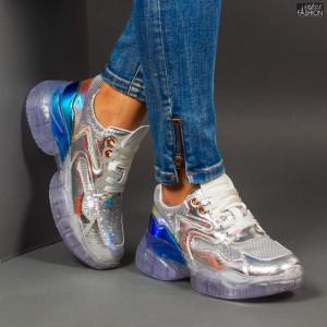 Pantofi Sport ''Se7.en X616 Silver''