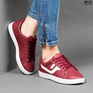Pantofi Sport ''Veer Fashion A1810-4 Wine Red'' [D5B12]