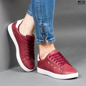 Pantofi Sport ''Veer Fashion A1812-4 Wine Red'' [D3C2]