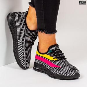 """Pantofi Sport """"Z Fashion ZA-75 Black"""" [D11D8]"""
