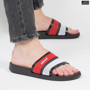 "Papuci ""Aierda 42 Black Red'' [S18B5]"