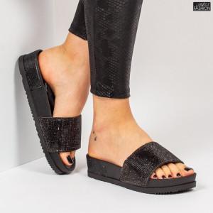 Papuci ''Mei Fashion WS118 Black'' [D10D7]