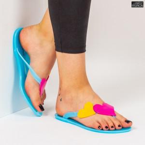 Papuci ''WE Fashion JLT258 Blue''