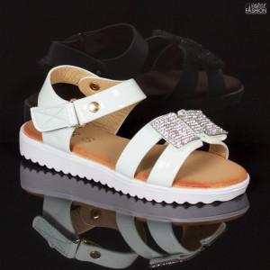Sandale Copii ''MRS R907 White'' [D4B5]