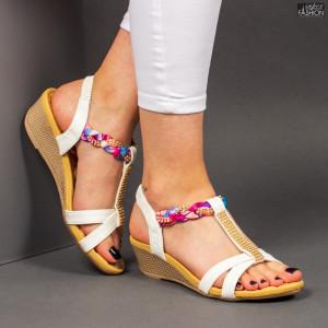 Sandale ''HENGDA Fashion LU-905 White'' [D9E1]