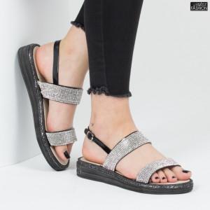 Sandale ''YiYi 20-8 Black'' [D15D1]