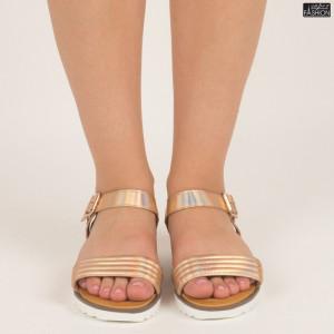 sandale dama din piele ecologica