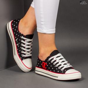 """Tenisi """"D.L. Fashion OC01 Black"""" [D14A10]"""